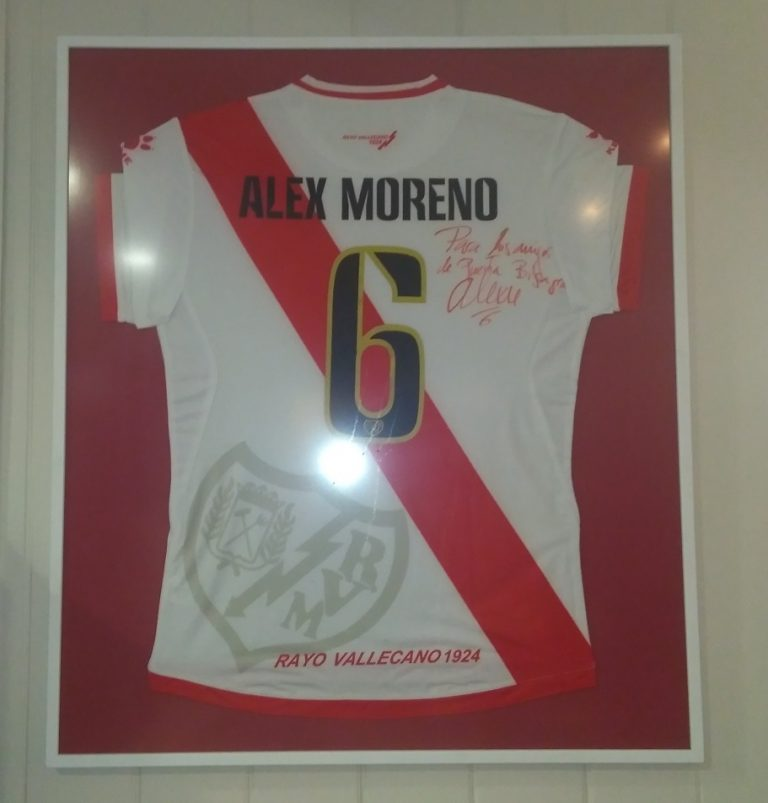 alex moreno rayo vallecano