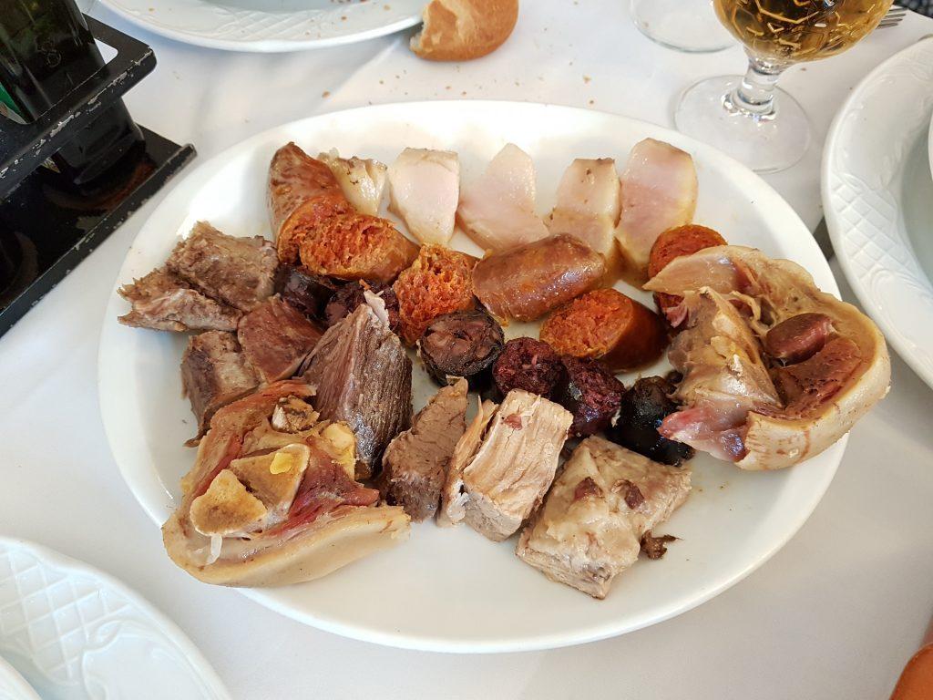 tercer vuelco cocido madrileño