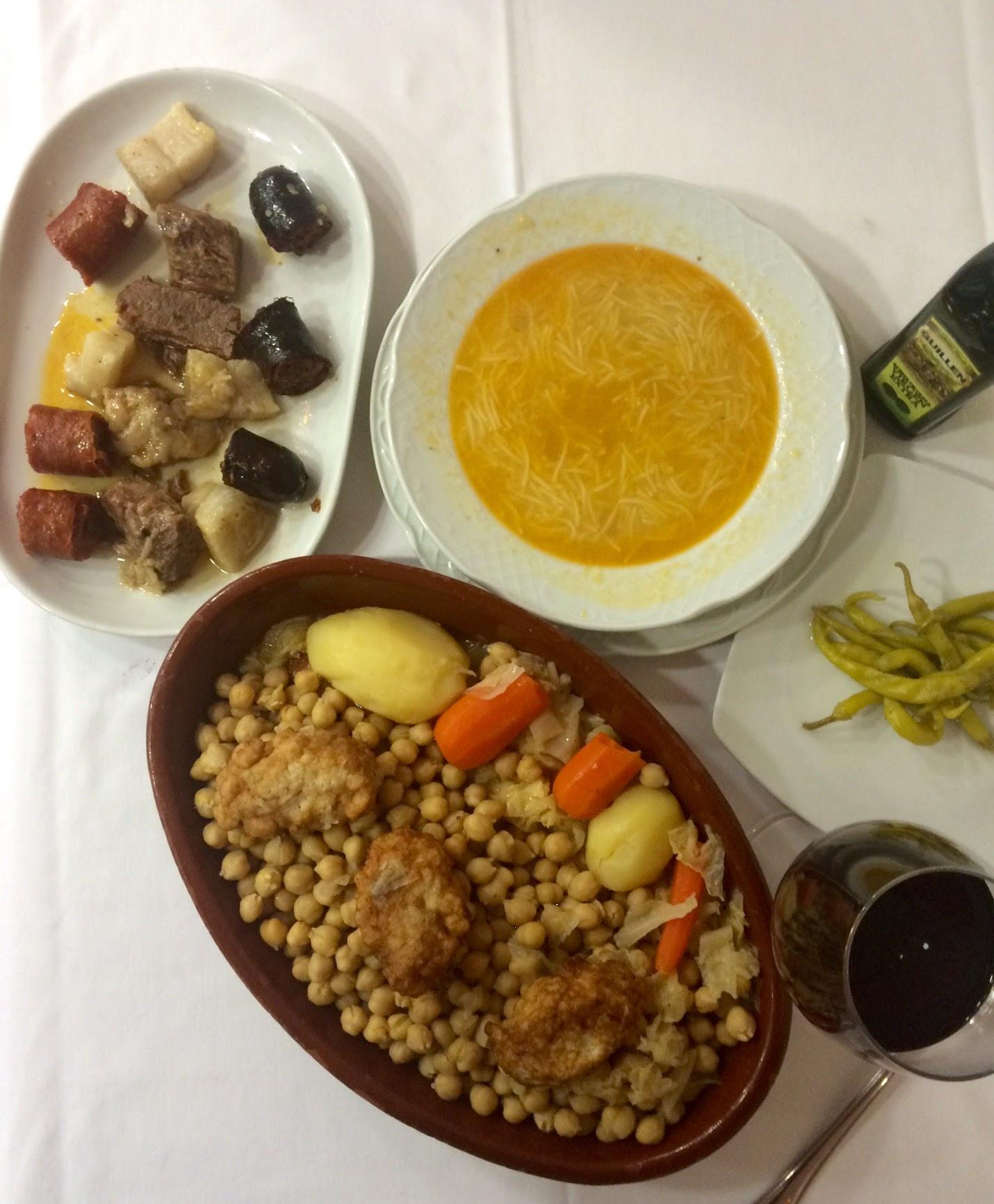donde comer cocido en Vallecas