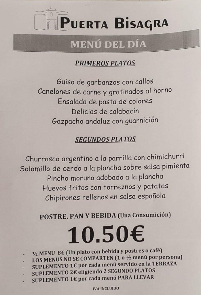 menus del dia en vallecas