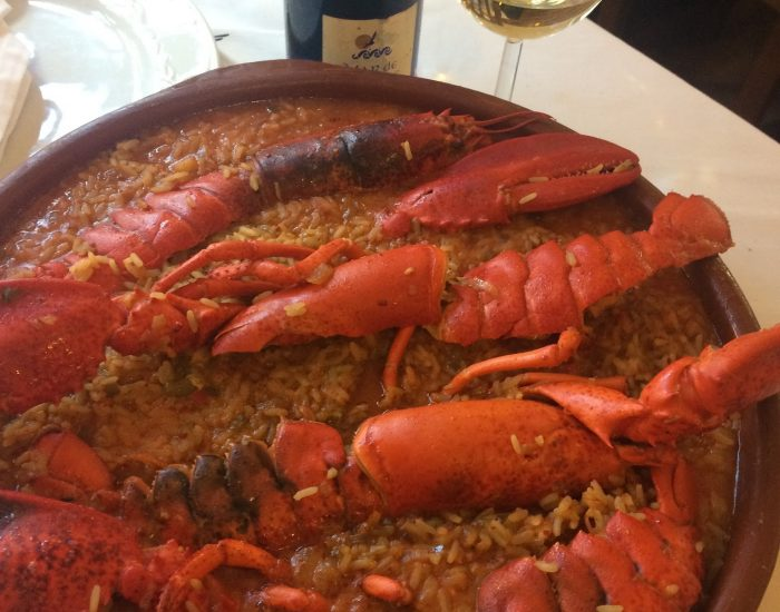arroz con bogabante madrid
